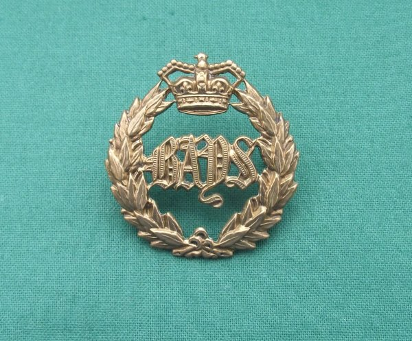 Victorian 2nd Dragoon Guards 'Queen's Bays' QVC Cap Badge