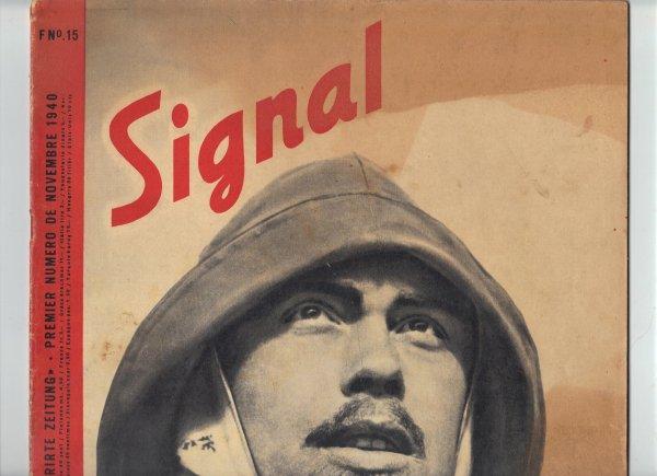 SIGNAL ,Hitler's WW2 magazine.1940-41